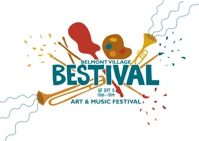 Belmont Village Bestival Art and Music Festival, Saturday September 15th, 10am to 10pm